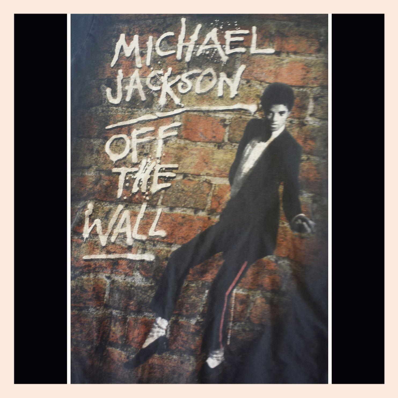Michael Jackson Off The Wall Tshirt Michael Michael Jackson