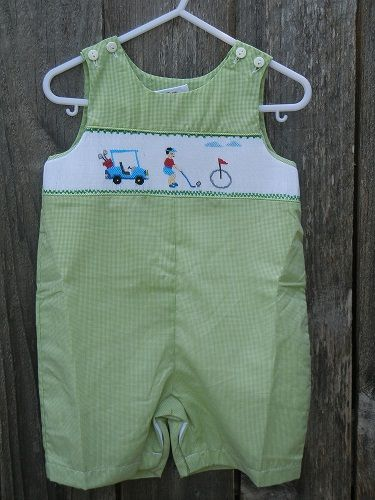 "Boys ""Golf"" Shortall.  Log on to www.annieks.com to view more like this."