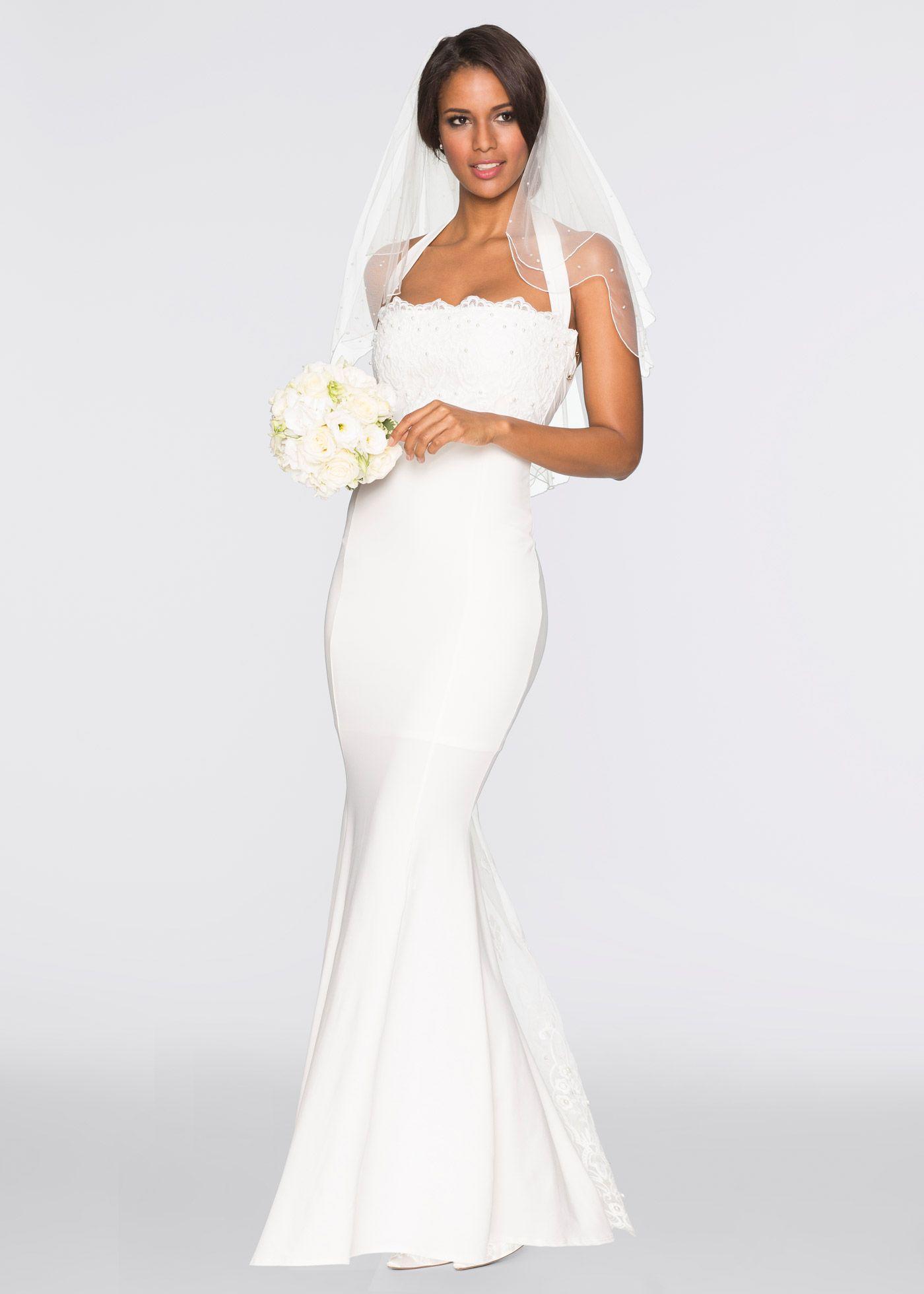 Hochzeitskleid weißn - BODYFLIRT boutique jetzt im Online Shop von ...