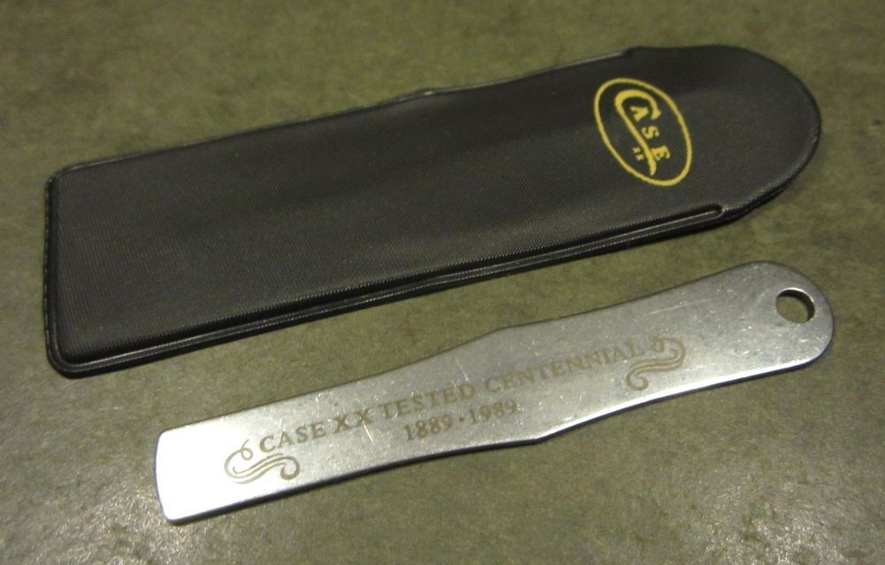 Case Xx Tested Centennial 1889 1989 Pocket Knife Pick