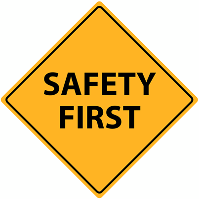 Safety First At Ap Health And Safety Poster Safety First Safety Posters