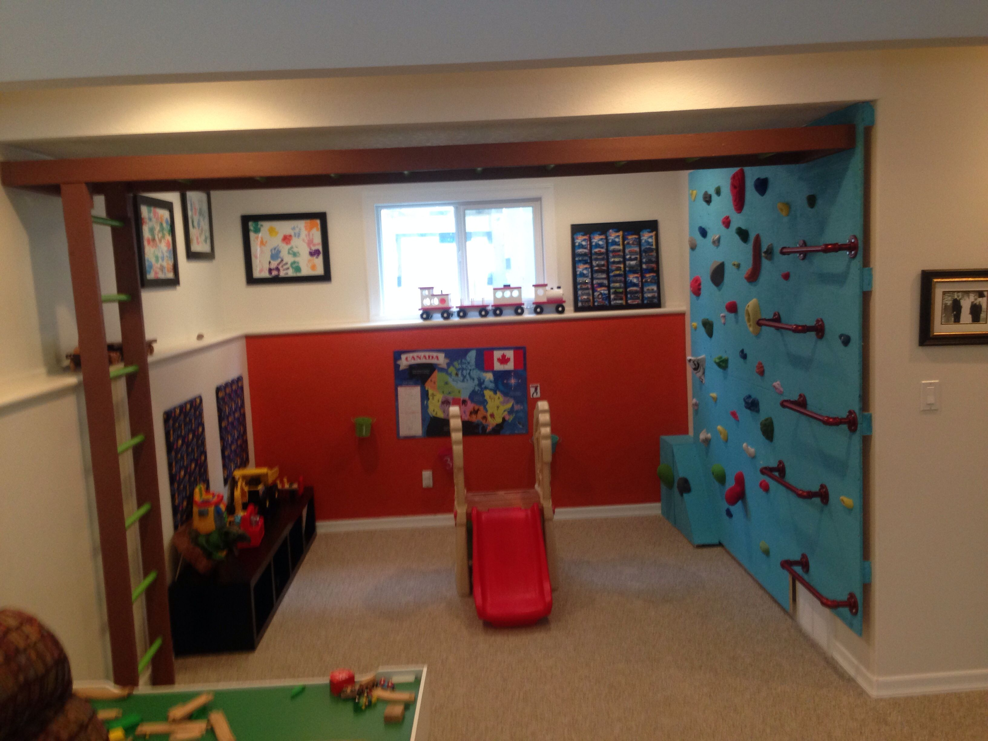 Diy Indoor Playground Basements For Kids