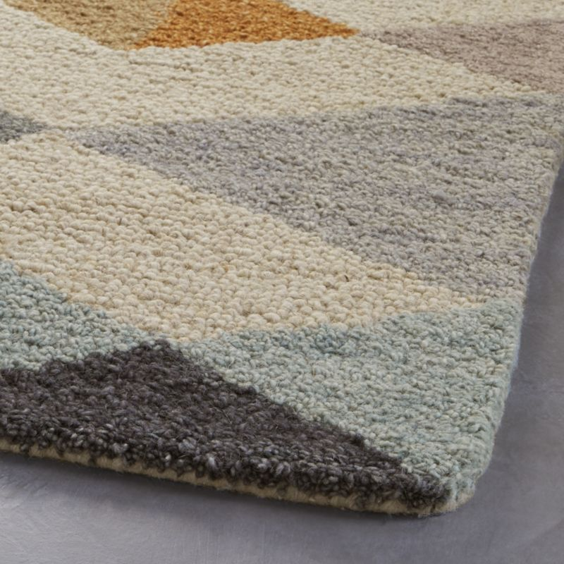 Orson Diamond Rug Swatch 12 Sq Reviews Crate And Barrel Rugs Rugs On Carpet Crate Barrel
