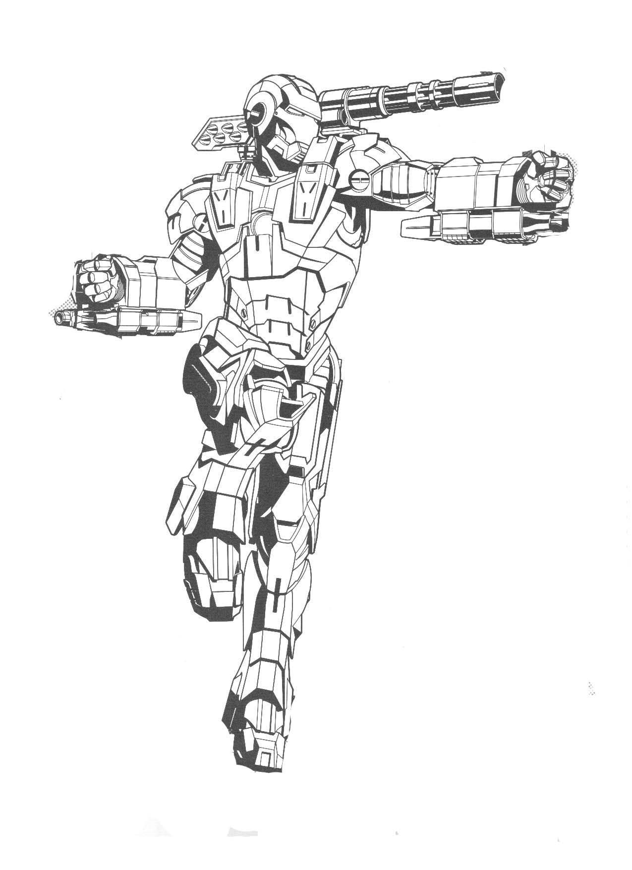 Iron Man Batman Coloring Pages di 2020