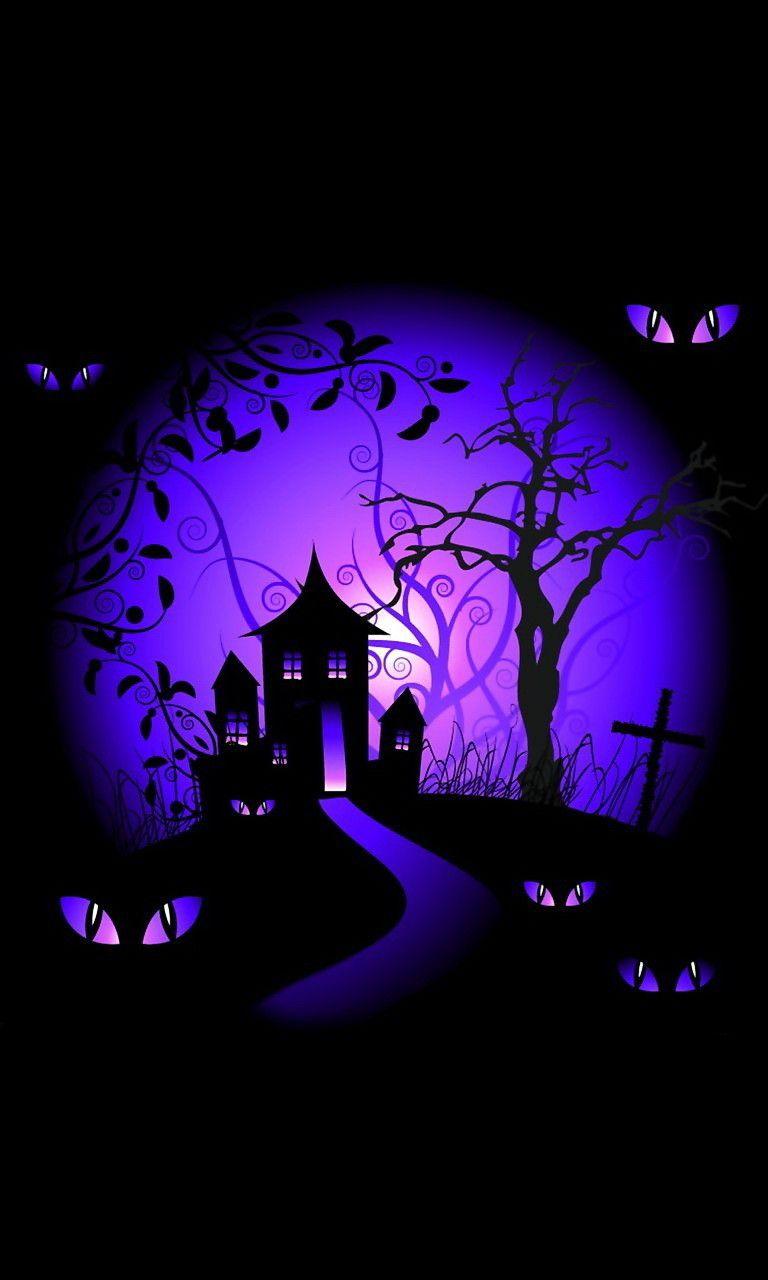 Download Wallpaper Halloween Purple - 87bca03f15b67eb9aef68e35ef723f31  HD_913081.jpg