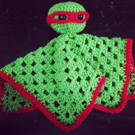 Teenage Mutant Ninja Turtle Lovey by My3Pieces on Etsy | Fun stuff ...