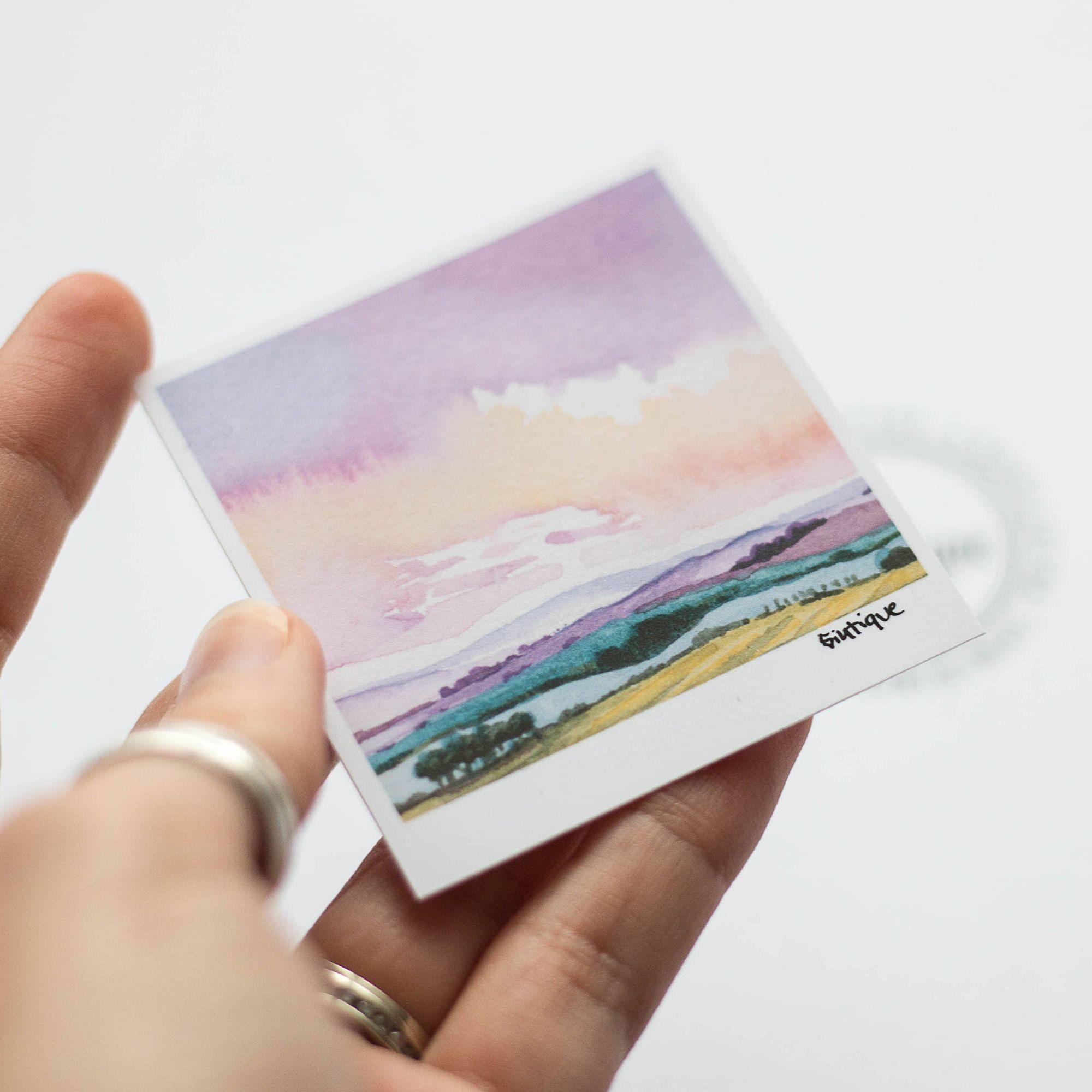 Laptop Sticker Landscape Vinyl Cute Landcape Sticker Cute Decal