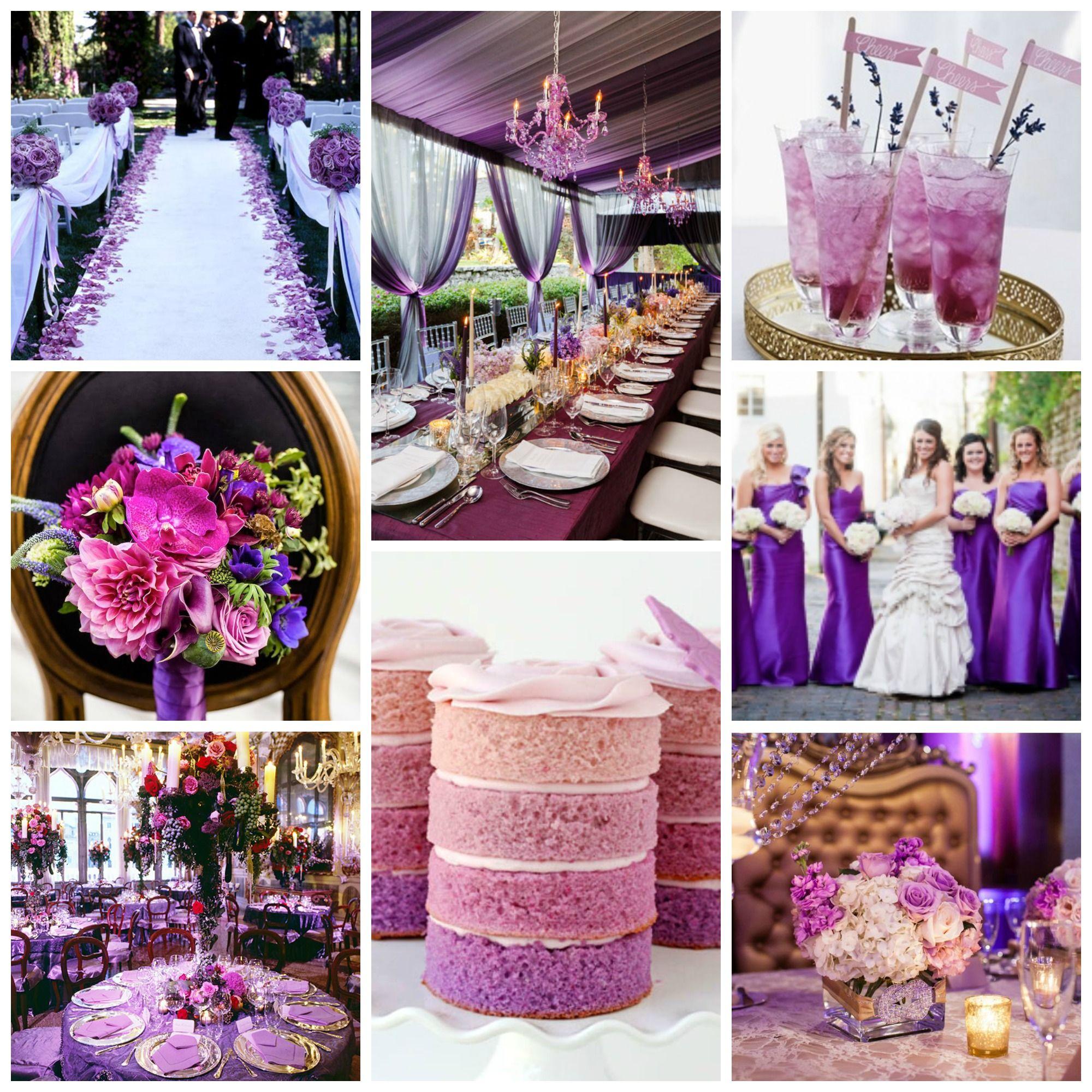 Purple Wedding Theme Ideas Related To Cute Purple Wedding Theme
