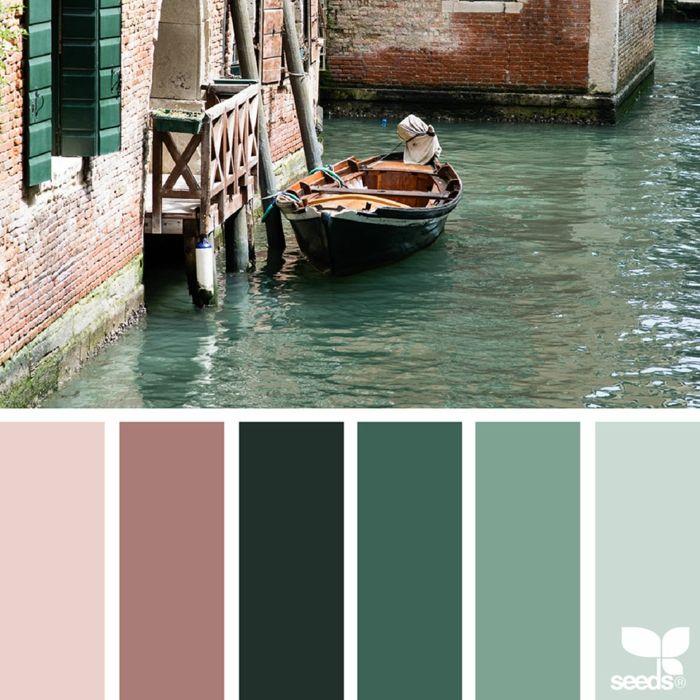 farbpalette kanal farben venedig @peoniesncream
