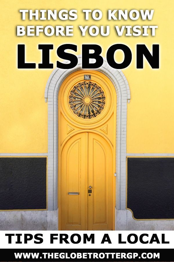 Visiting Lisbon: A Travel Guide by a Local #lisbon
