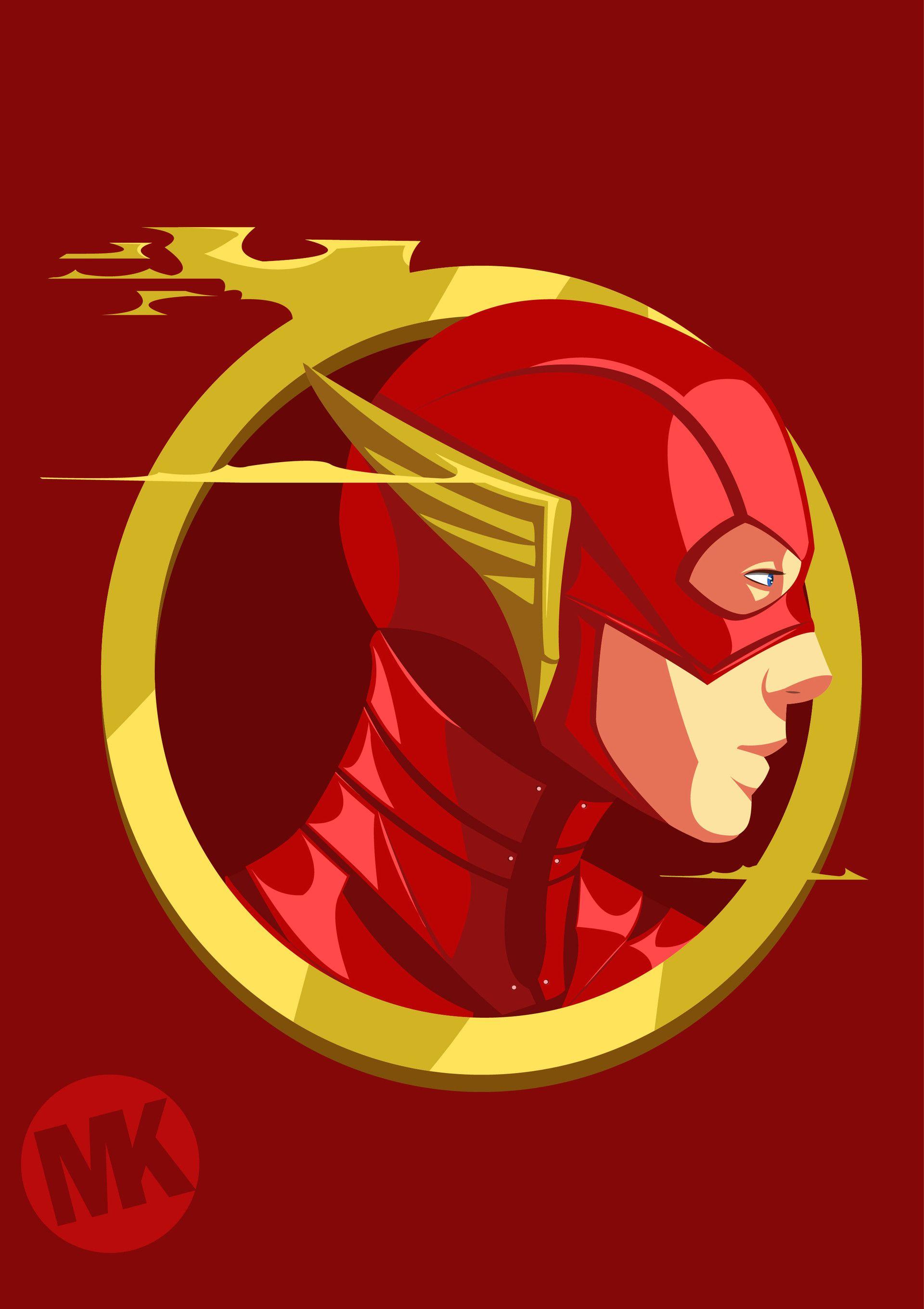 ArtStation The Flash DCEU, Mayank Kumar Flash