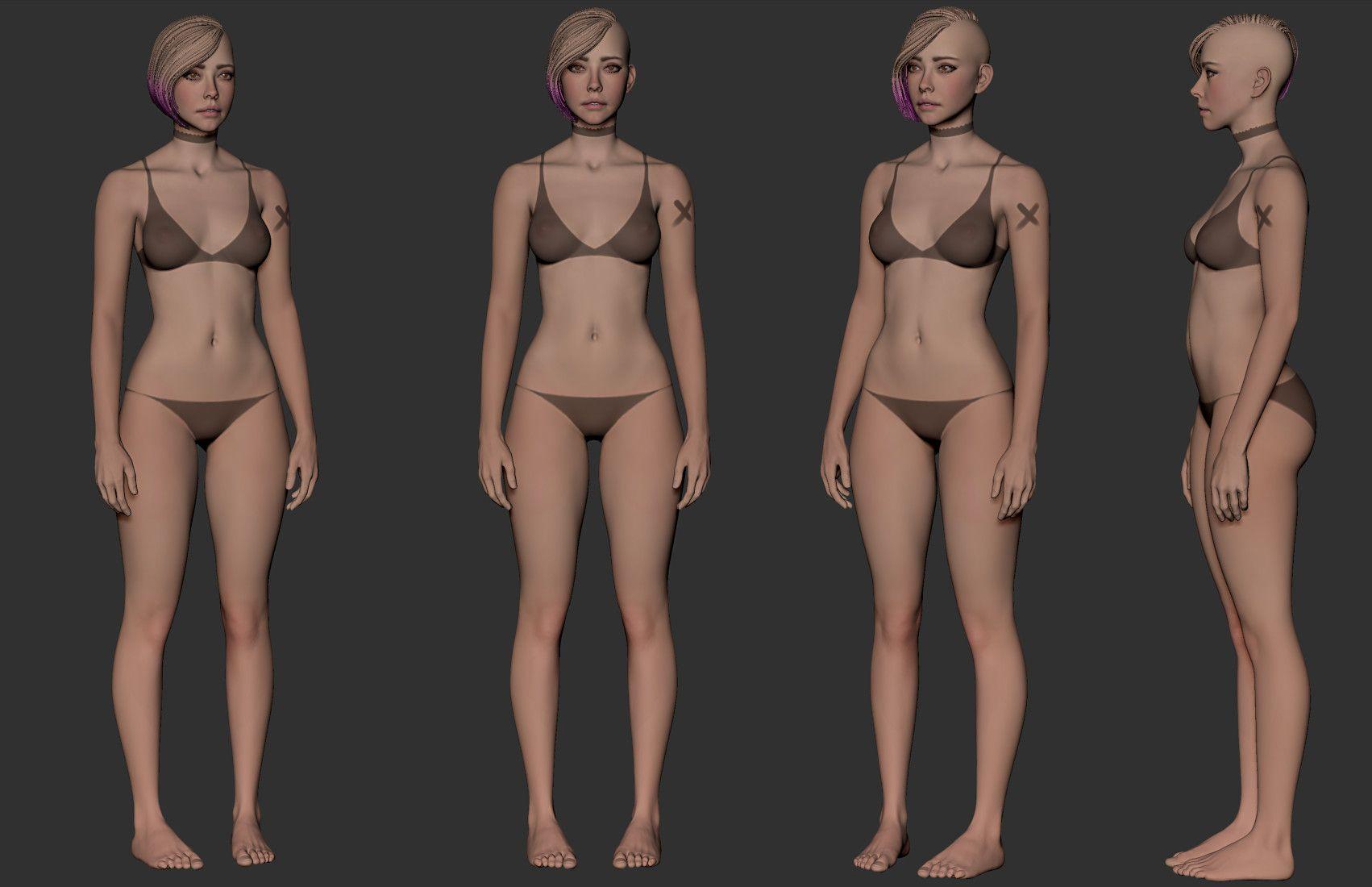 body texture 3d - HD1702×1100