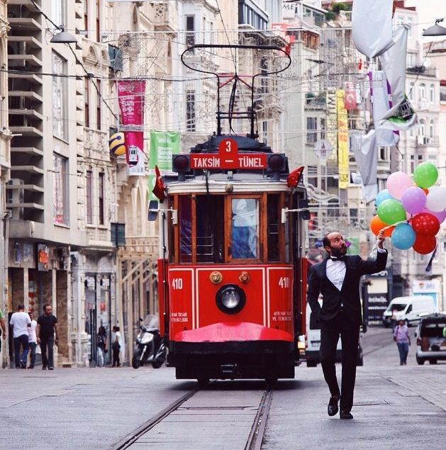 Istanbul da mutlu birgun