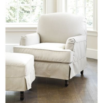 Charmant Rebecca Chair U0026 Ottoman Slipcover   Ballard Designs Is The Best Option I  Have Seen Yet. I Only Wish It Were Available In More Of The  Machine Washable ...