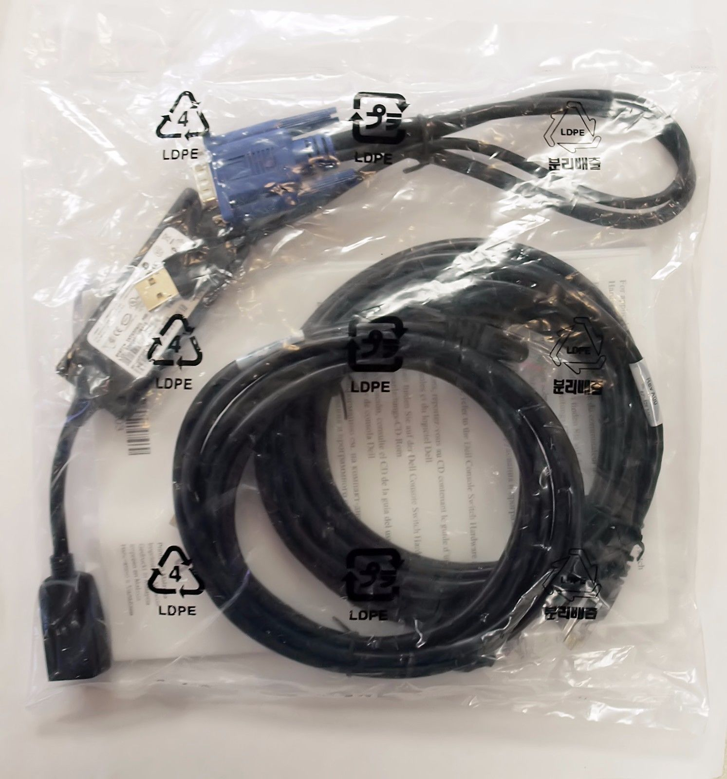 Kvm Cables 182095 New Dell 0uf366 0hg526 Usb Kvm Switch Cable Module Kit Pod Sip 2161ds 2160as Buy It Now Only 27 On Ebay Cables Swit Usb Switch Cable