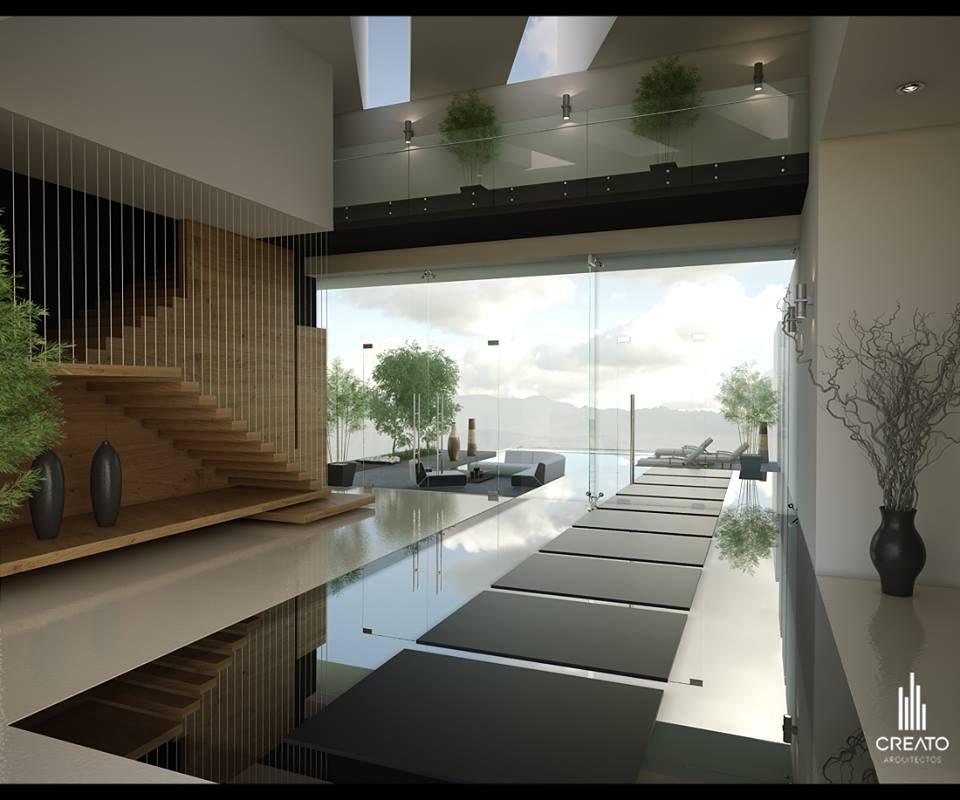 Creato Arquitectos INTERIOR DESIGN Pinterest Interiors - charmantes appartement design singapur