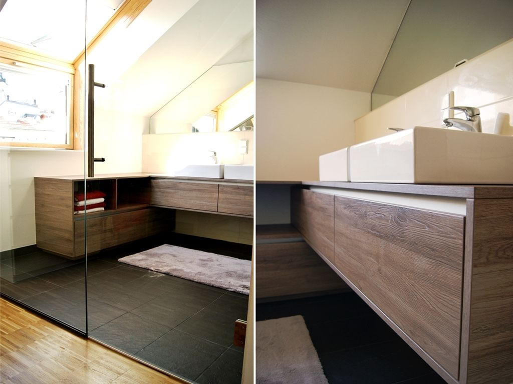 material eiche sanremo terra aluminium http://krumhuber-design.at, Badezimmer ideen