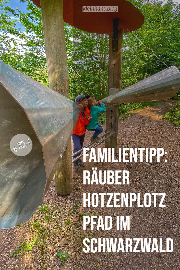 Räuberpfad vom Hotzenplotz bei Gengenbach im Schwarzwald