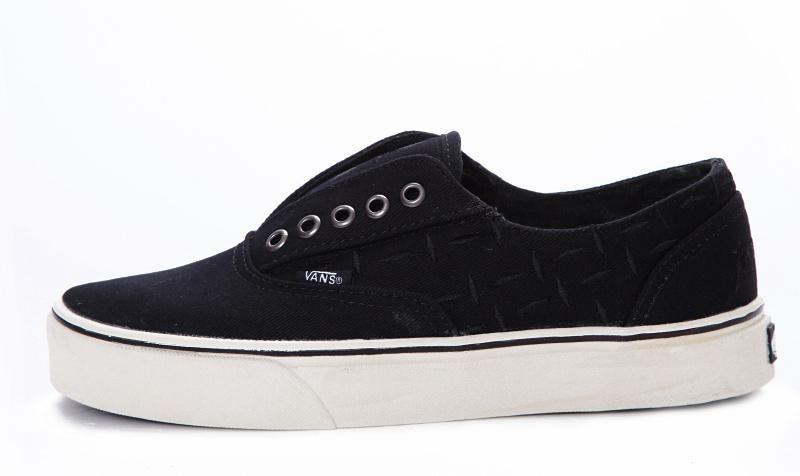 Vans C L Laceless Era Classic Black True White Mens Shoes  Vans ... 94914f17a