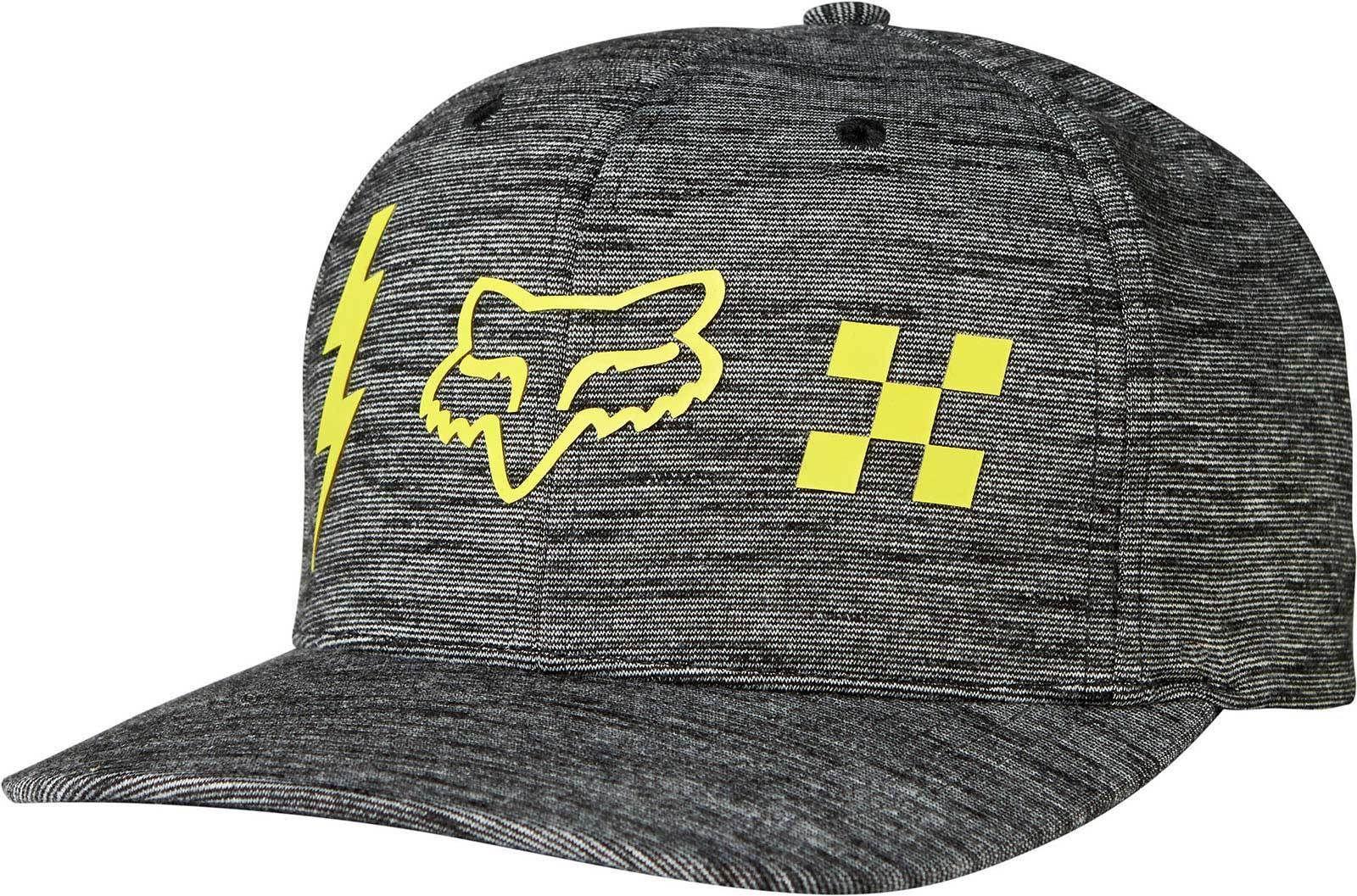 wholesale dealer 42165 0836a Fox Racing Striker Check Flexfit Hat - Adult Mens Guys Lid Cap Mx Atv Mtb