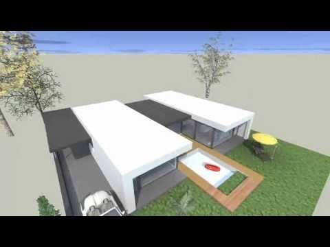 Suche Architekten architektur bungalow flat roof suche home