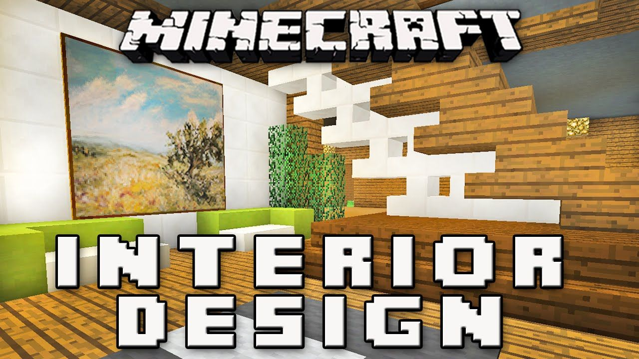 awesome minecraft tutorial how to make furniture for a game room