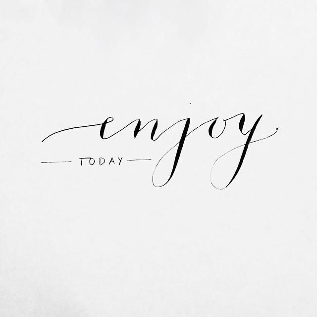 Enjoy today. In fact, enjoy every day! What's not to enjoy here at Watergate Bay!