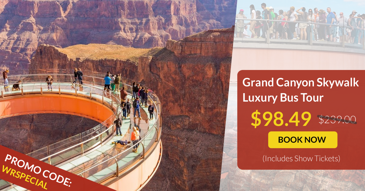 Grand Canyon West Rim Luxury Bus Promo Grand Canyon West