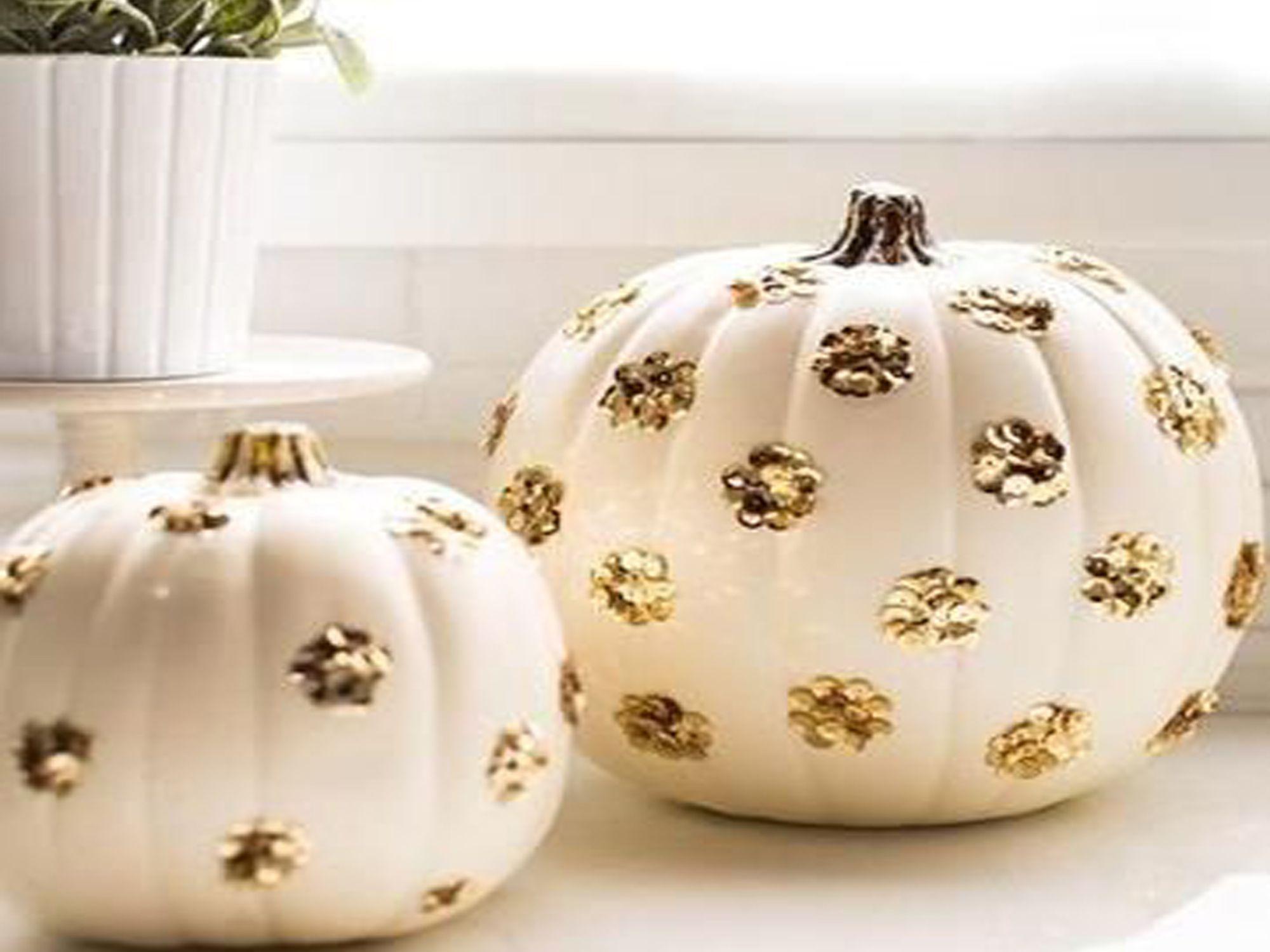 Calabazas decoradas de Halloween