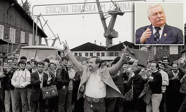 Poland's Lech Welesa 'was an informant for Communist secret police'   Daily Mail Online