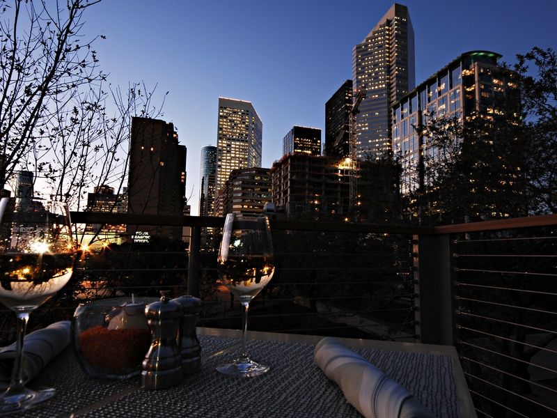 The Grove In Downtown Houston Overlooking The Skyline