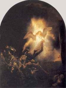 The Resurrection by Rembrandt van Rijn