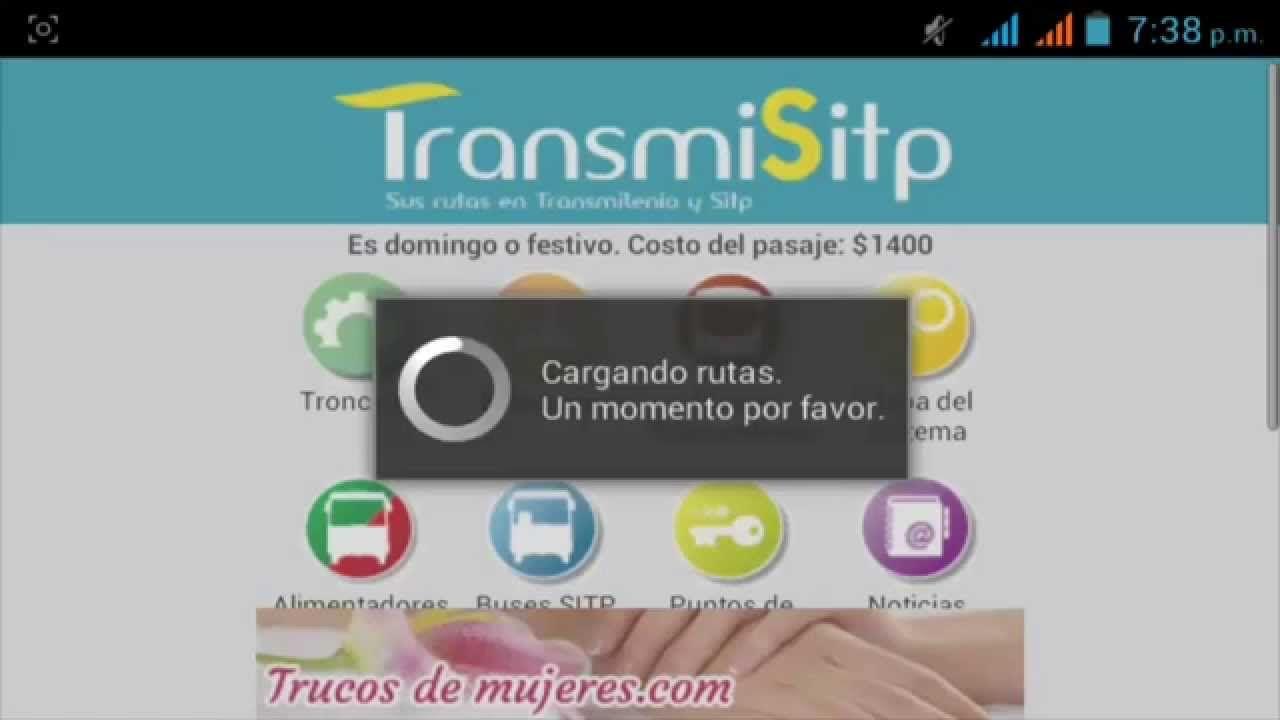 Aplicación Transmilenio y Sitp  - Para cualquier celular y Tablet Android