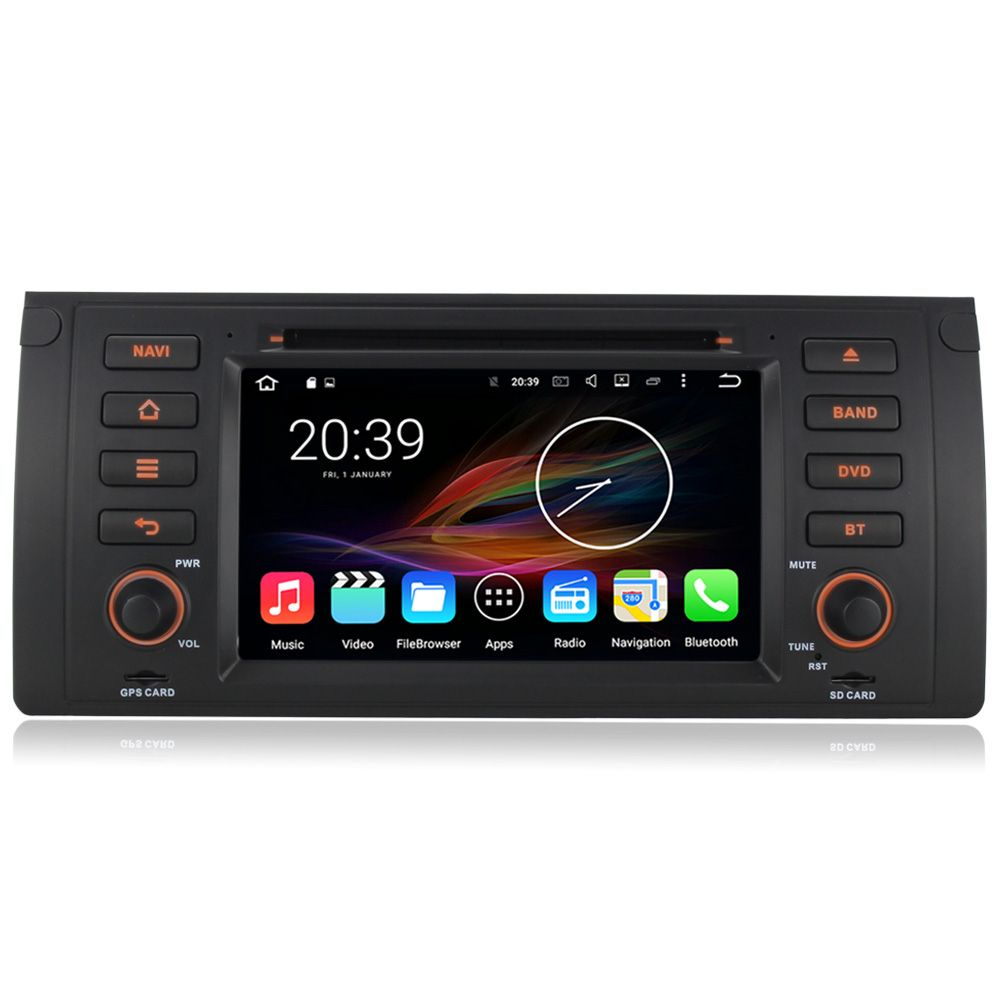 7 U0026quot  Android Autoradio Car Multimedia Stereo Gps Navigation Dvd Radio Audio Head Unit Bmw 5 Series