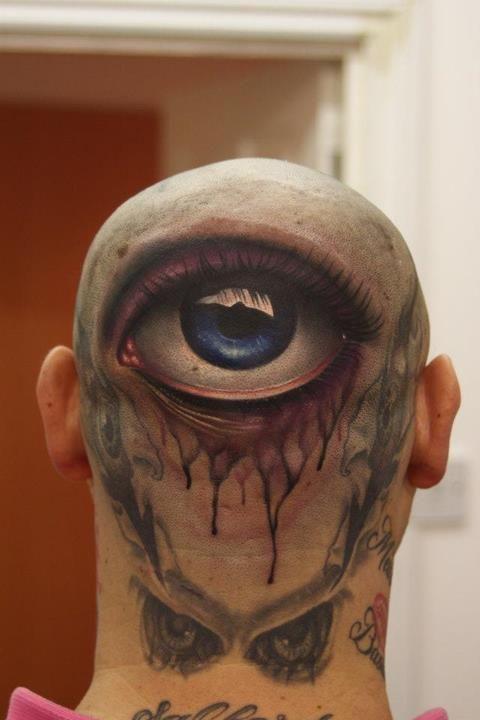 Eye Tattoo By John Anderton Wwwnemesistattoocouk Superb