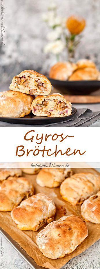 gyros br tchen frisch aus dem ofen kochen pinterest brot essen und lecker. Black Bedroom Furniture Sets. Home Design Ideas