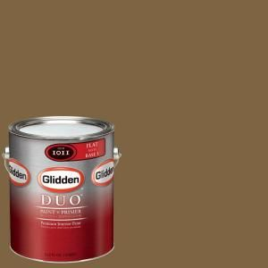Glidden Team Colors, 1-gal. #NFL-181B NFL San Francisco 49ers Gold Flat Interior Paint and Primer, NFL-181B-F 01 at The Home Depot - Mobile