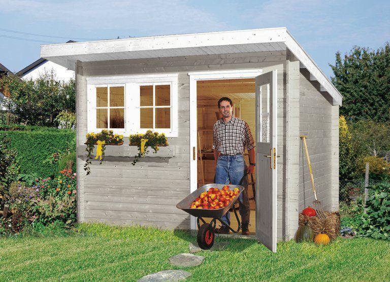 Abri jardin en bois TYPE 116 taille 1 - WEKA | Déco - Extérieur ...