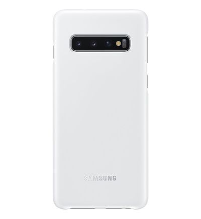 Coque SAMSUNG S10 affichage LED blanc - Samsung - Galeries Lafayette