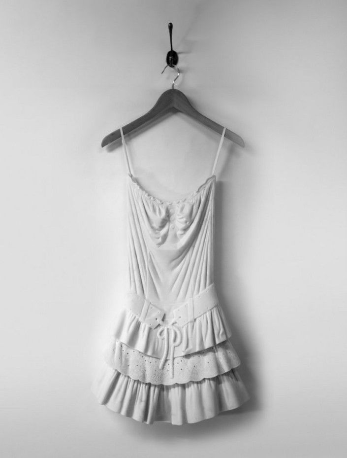 dress made ​​of marble