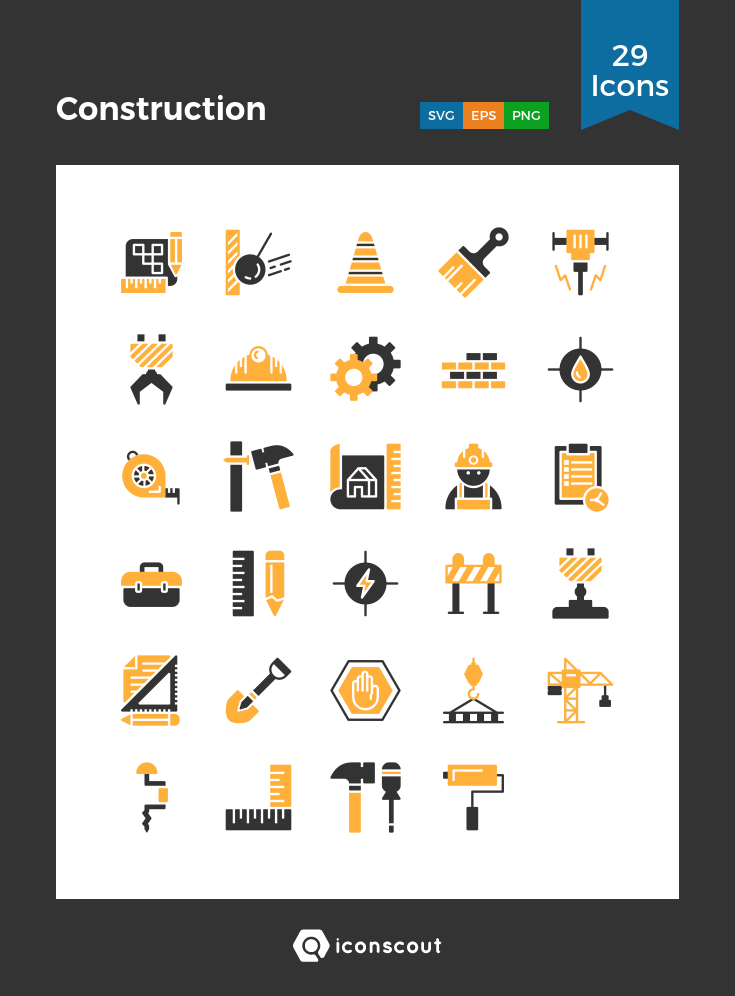 Download Construction Icon Pack Available In Svg Png Eps Ai Icon Fonts Construction Logo Design Civil Engineering Design Graphic Designer Portfolio