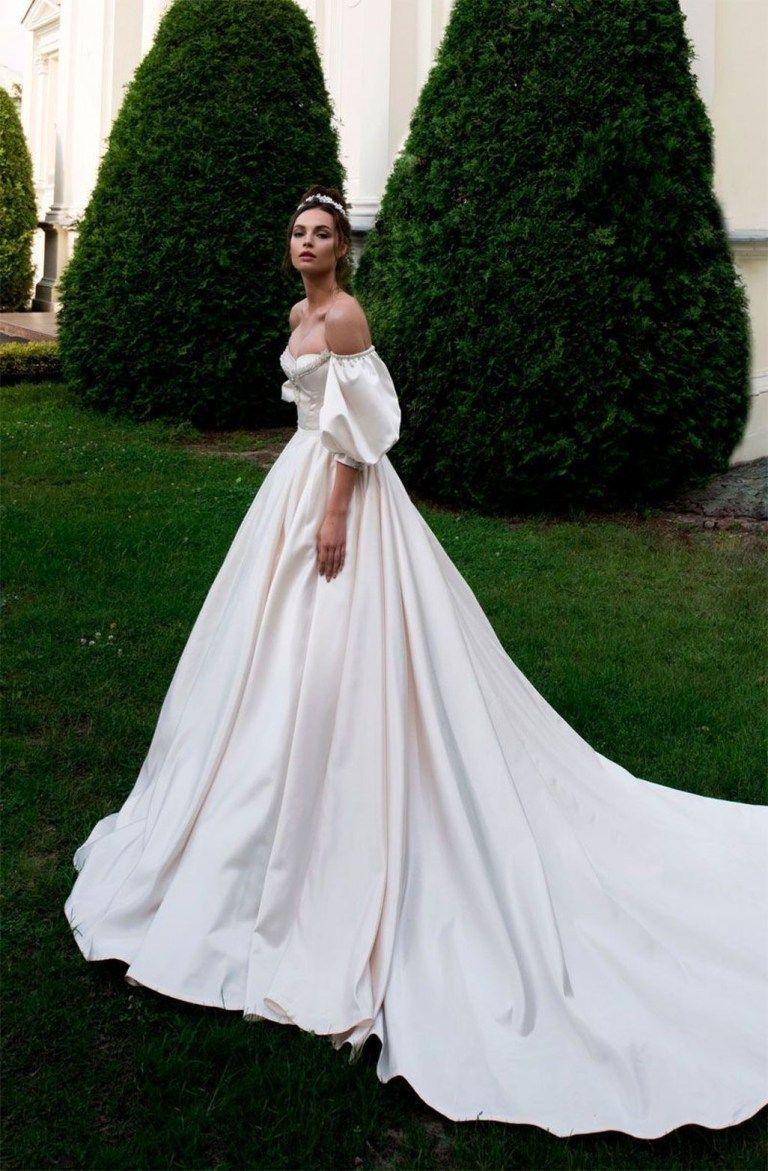 Elegant a line sweetheart wedding dresses ideas princess