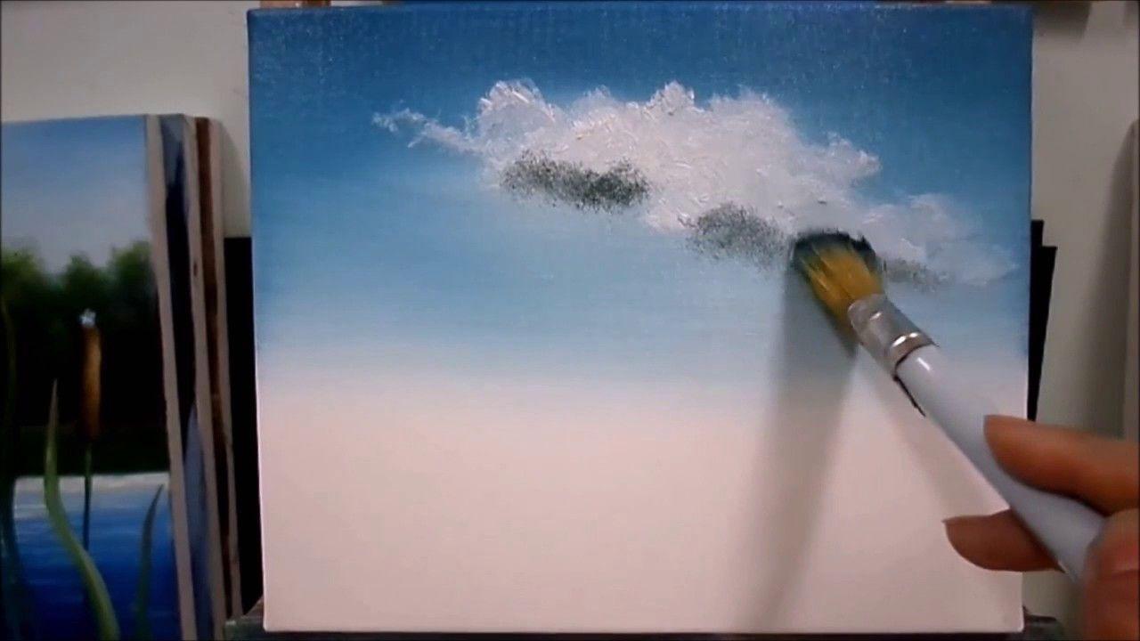 Yagli Boya Resimde Bulut Nasil Yapilir Bulut Resmi Cizimi Bulutlar Cizim Resim