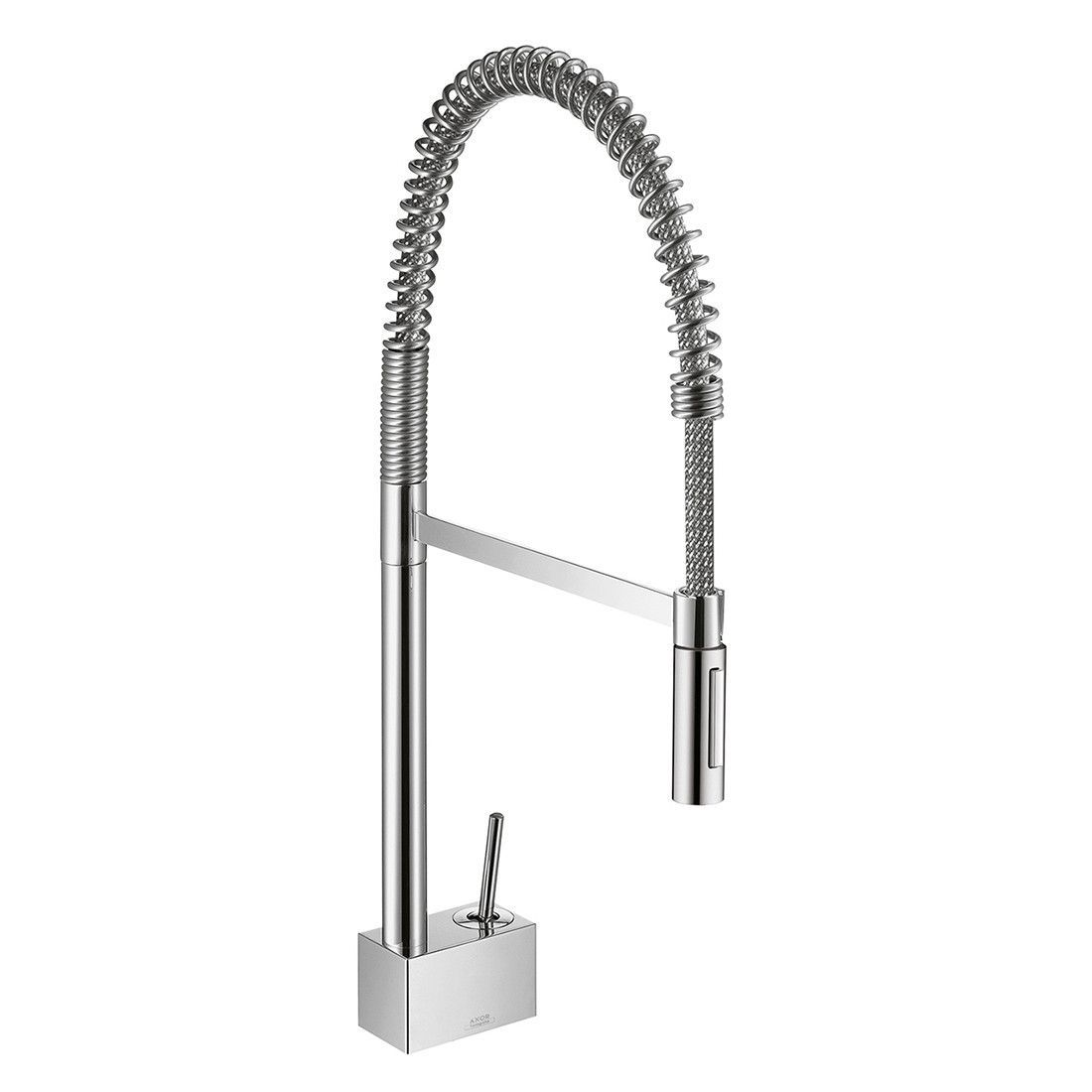 Hansgrohe 10820001 Chrome Axor Starck Semi-Pro Kitchen Faucet with ...