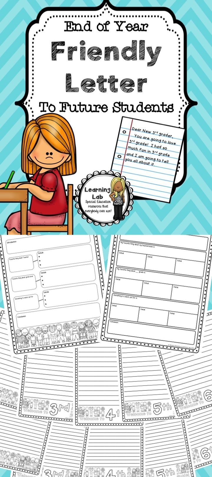 Your Current Students Will Enjoy Writing A Friendly Letter To Your