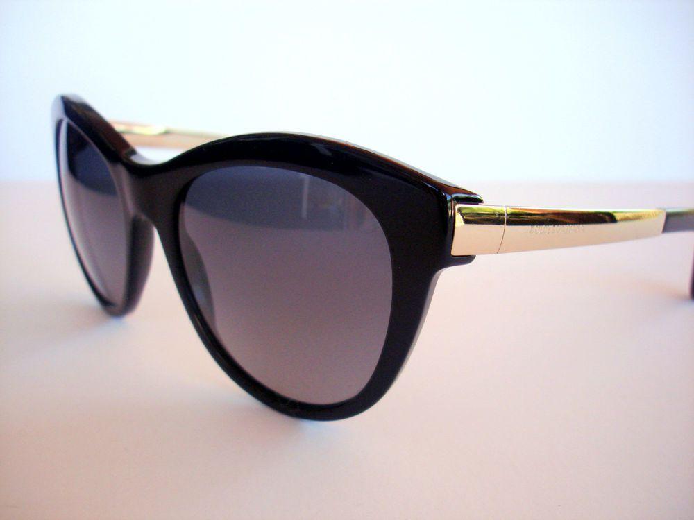 Dolce and Gabbana Sunglasses DG 4243 Black 501/T5 Polarized Authentic  #DolceAndGabbana #Designer