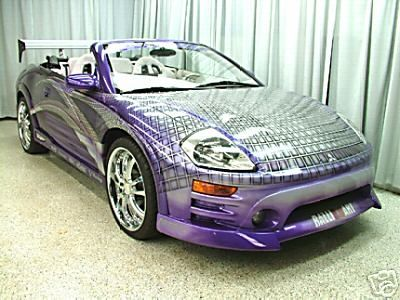 2003 Mitsubishi Eclipse Spyder From 2 Fast 2 Furious Bruce Titus