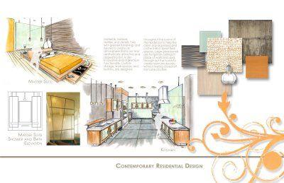 Diem design getting a job in architecture Best interior design portfolio examples