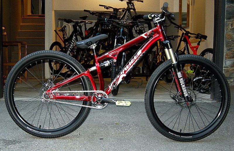 Specialized Debuts Dual Suspension Slopestyle Bike At