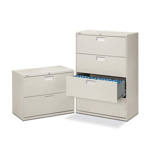 O Hon Company O 4 Drawer Lateral File W Lock 30 X19 1 4 X53 1 4